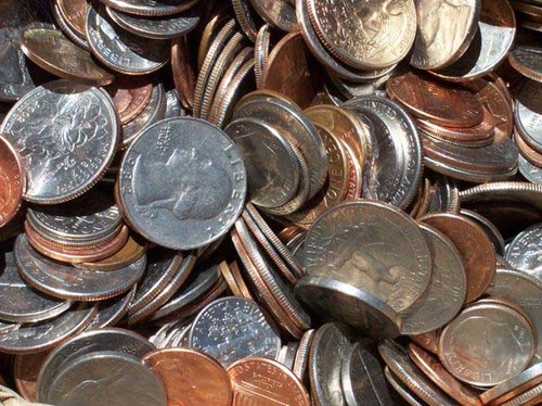 Nickel is used in many coins around the world.*